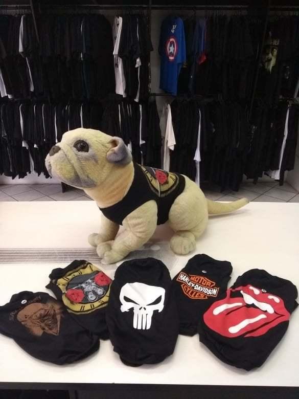 Blusa Pet Guns N`Roses