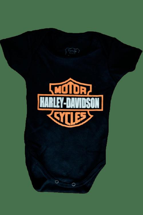 Body Infantil Harley Davidson Family Rock