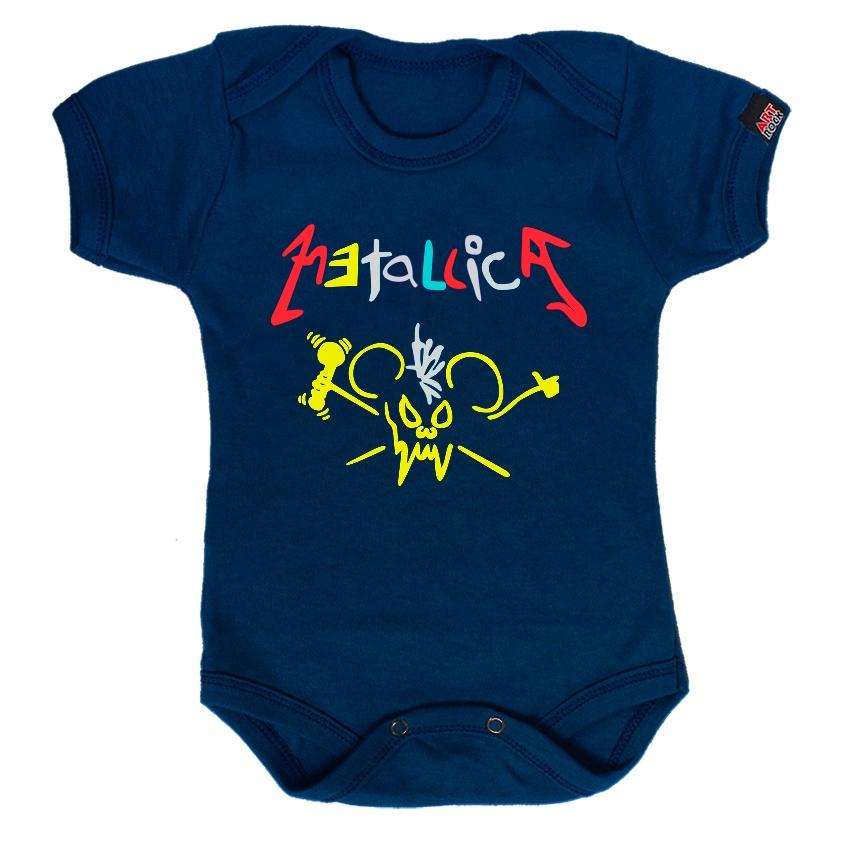 Body Infantil Metallica
