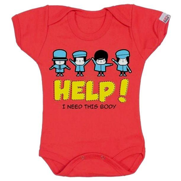 Body Infantil The Beatles - Help