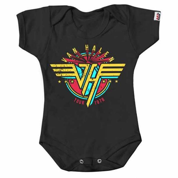 Body Infantil Van Halen