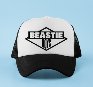 Boné aba curva trucker Beastie Boys