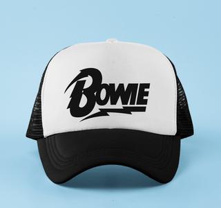Boné aba curva trucker David Bowie