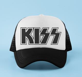 Boné aba curva trucker Kiss