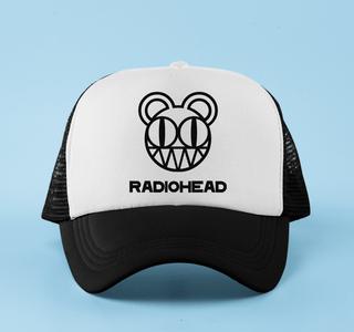 Boné aba curva trucker Radiohead