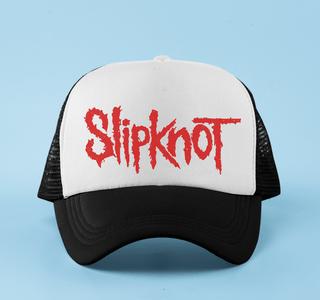 Boné aba curva trucker Slipknot