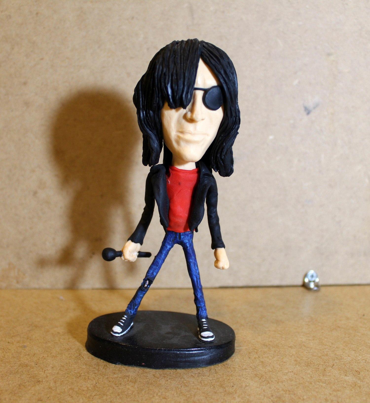 Boneco Decorativo Ramones
