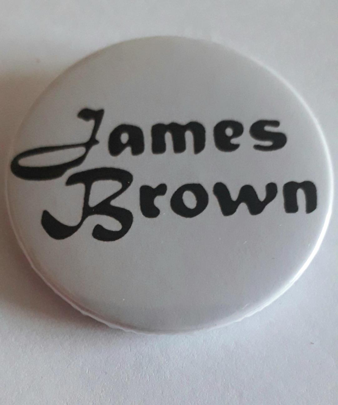 Botton James Brown