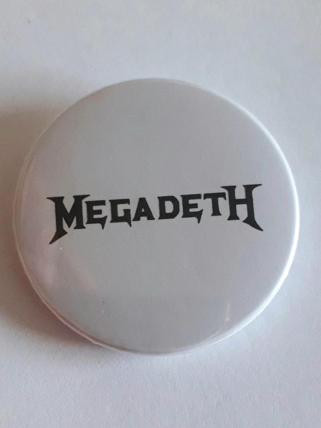 Botton Mega Deth