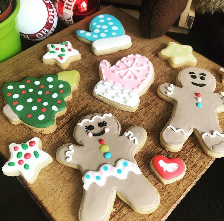 Caixa Biscoitos Decorados Mistress for Christmas - 07 unidades