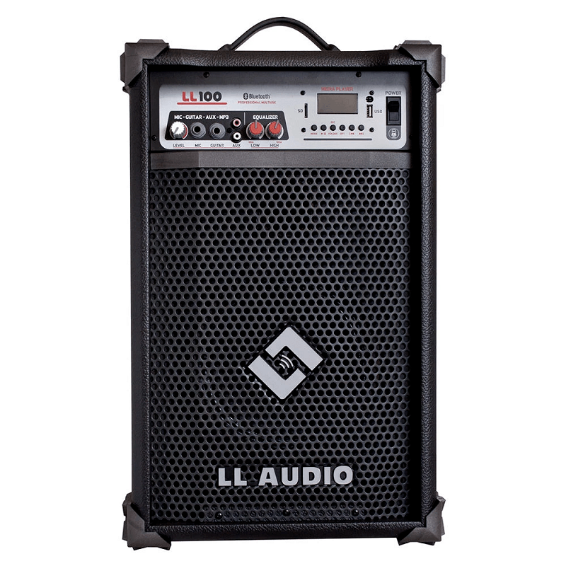 Caixa Multiuso LL Audio 100 25 Watts Multiuso Bluetooth USB
