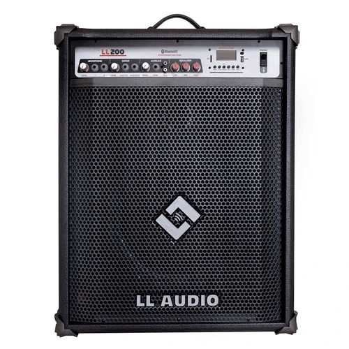 Caixa Multiuso LL Audio 200 50 Watts Multiuso Bluetooth USB