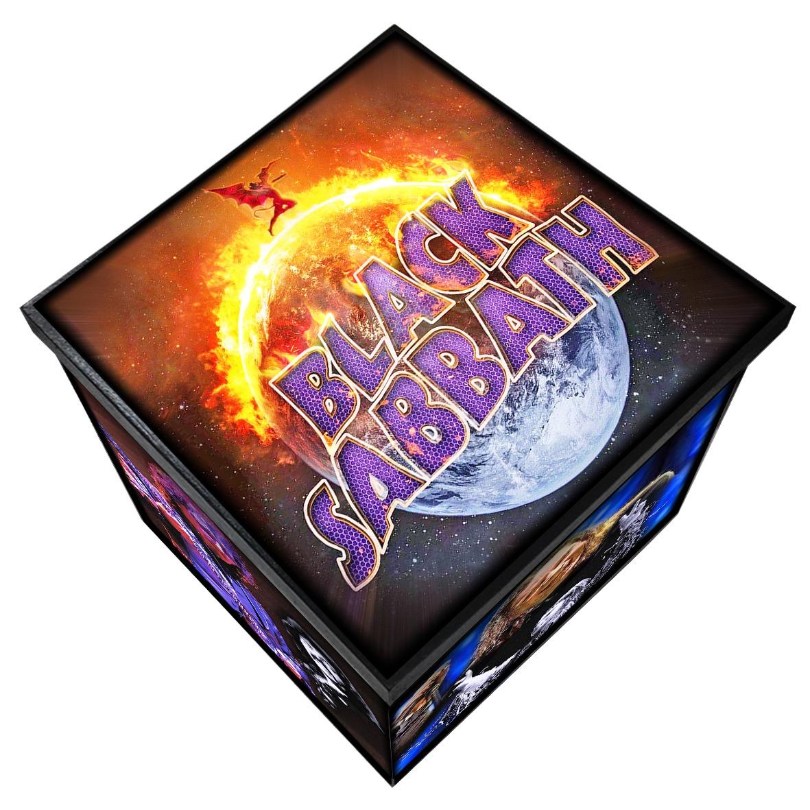 Black Sabbath - Caixa em Madeira MDF - Tamanho Grande - Mr. Rock