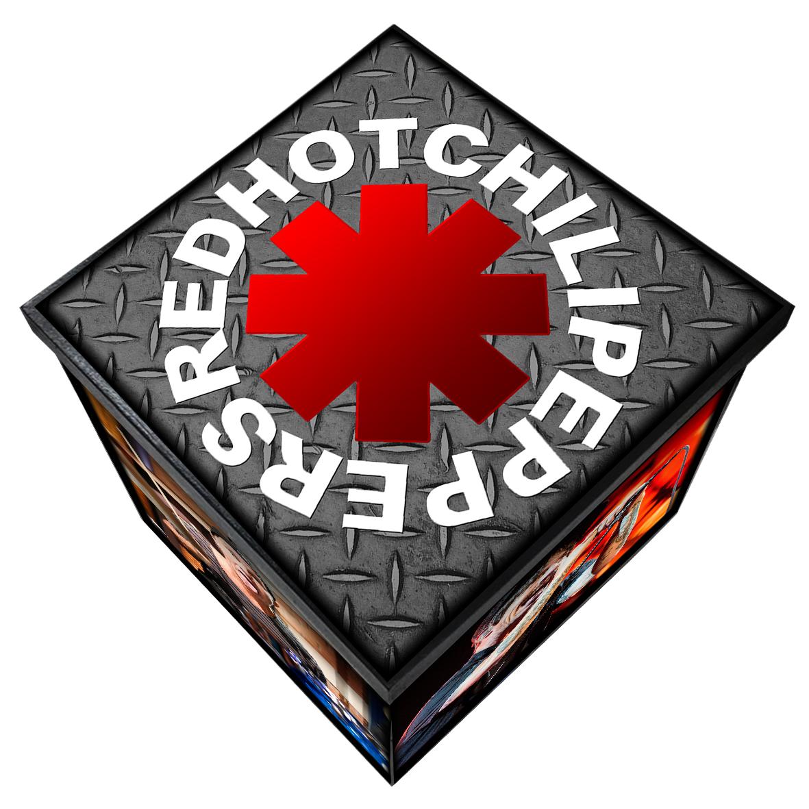 Red Hot Chili Peppers - Caixa em Madeira MDF - Tamanho Grande - Mr. Rock