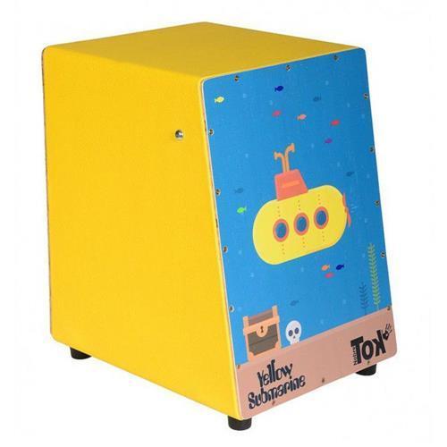 Cajon Infantil Acústico Yellow Submarine - Nobre Tok