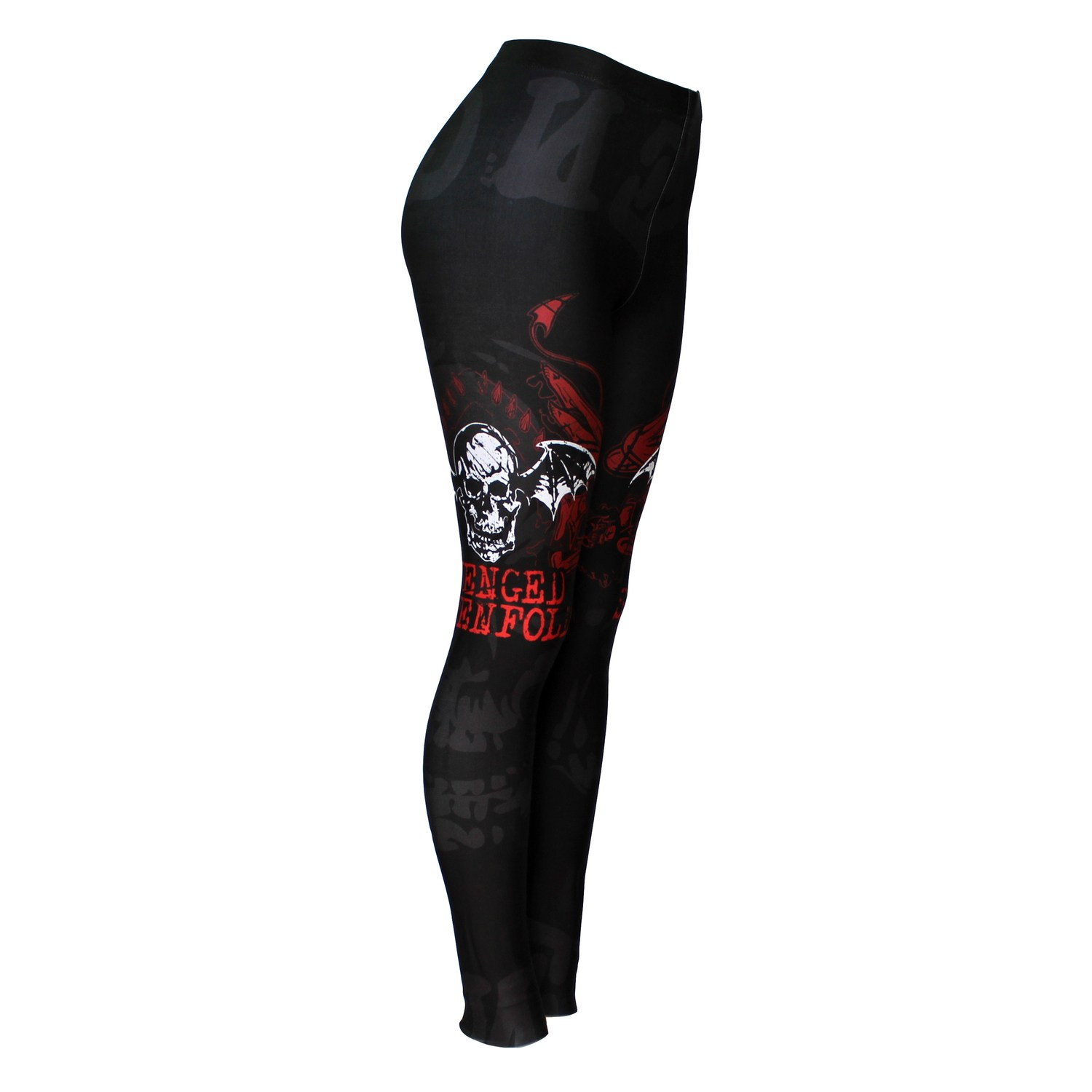 Calça Legging Feminina Avenged Sevenfold - Bloody Hell Wear