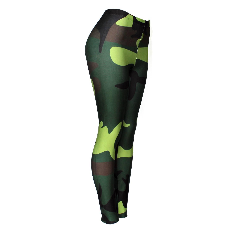 Calça Legging Feminina Camuflagem - Bloody Hell Wear