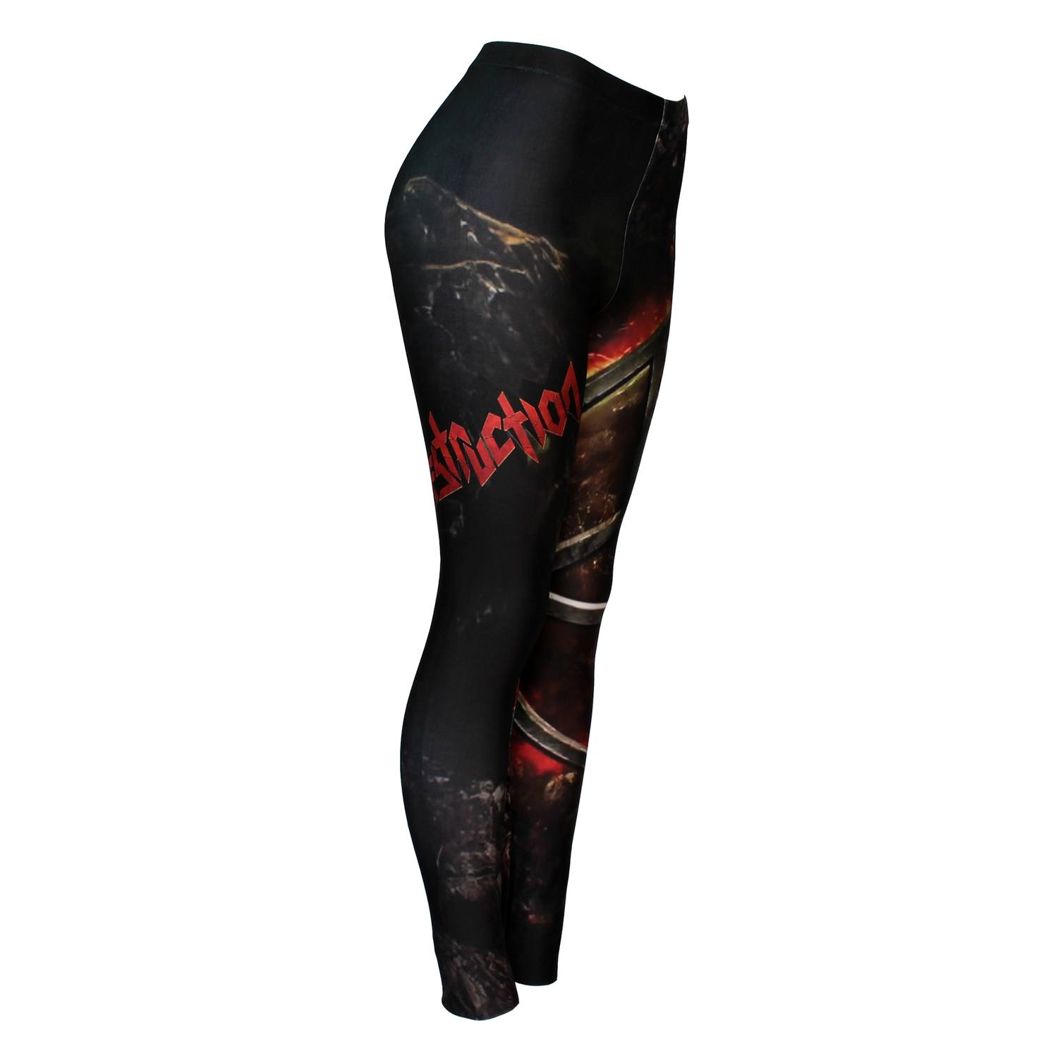 Calça Legging Feminina Destruction - Under Attack - Bloody Hell Wear