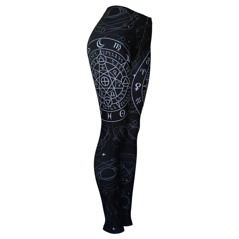 Calça Legging Feminina Mapa Astral - Bloody Hell Wear