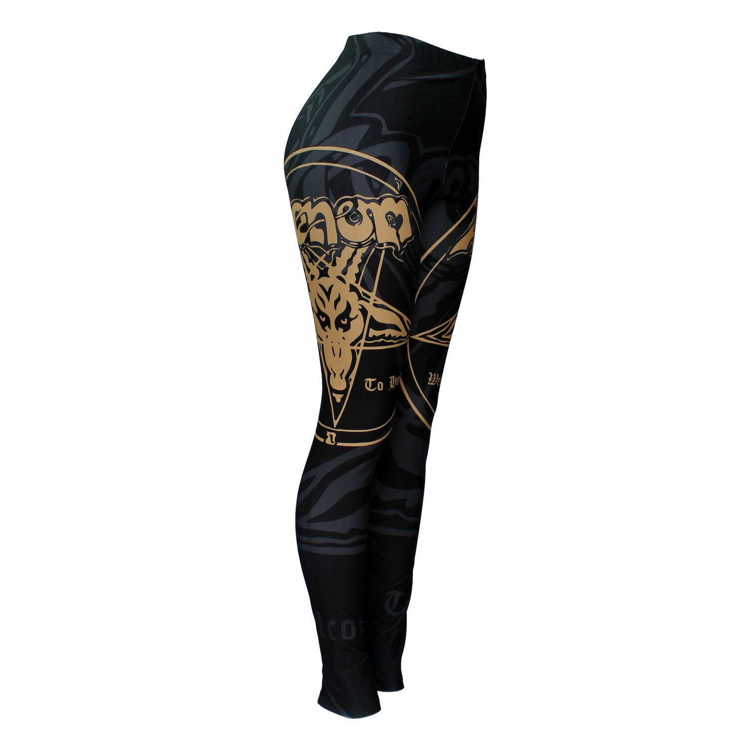 Calça Legging Feminina Venom - Welcome to Hell - Bloody Hell Wear