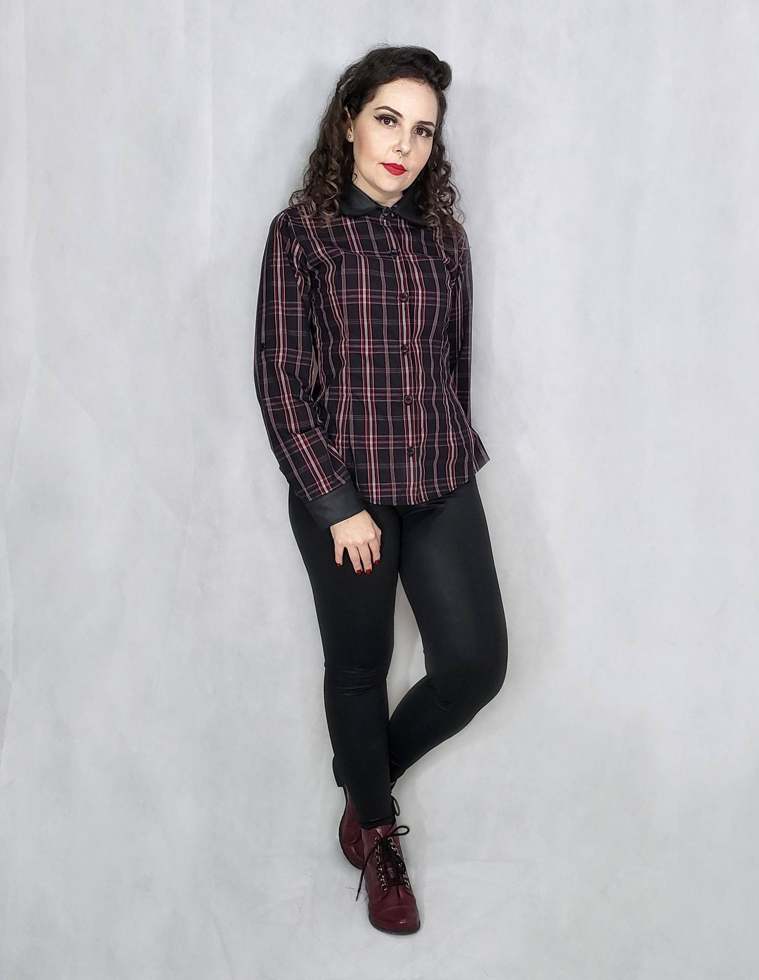 Camisa - Black Chess