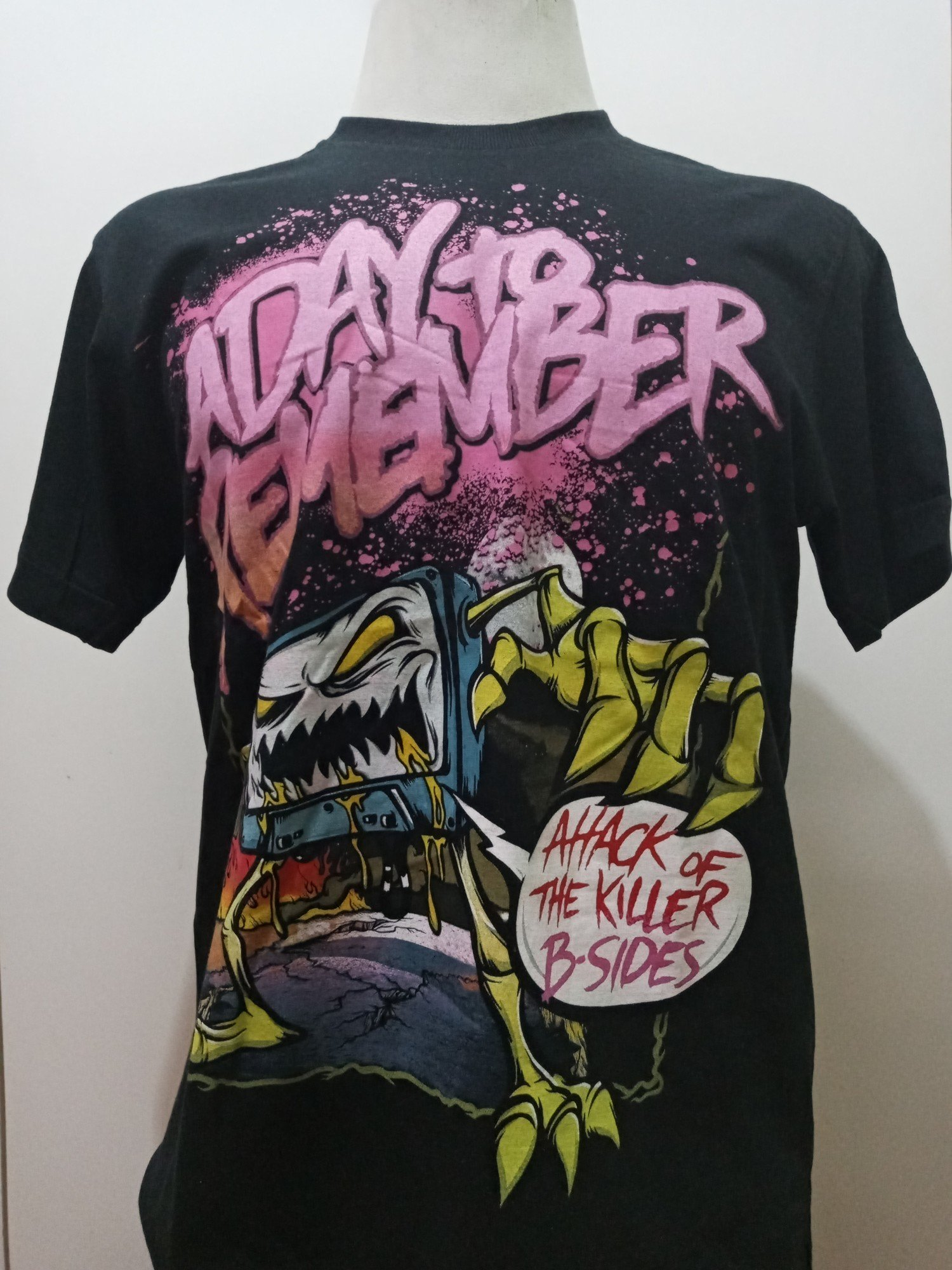 CAMISETA A DAY TO REMEMBER ATTACK
