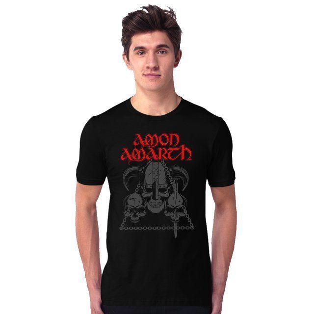 Camiseta Amon Amarth Nordic Death Metal - eFull Camisetas