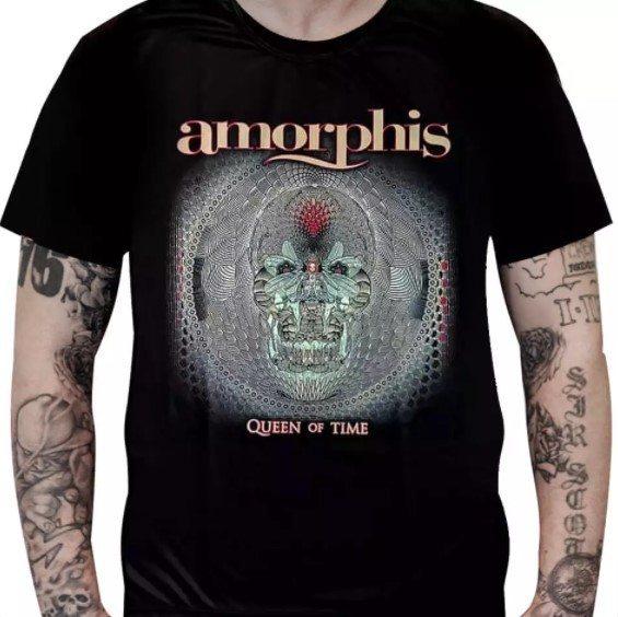 Camiseta Amorphis - Queen of Time