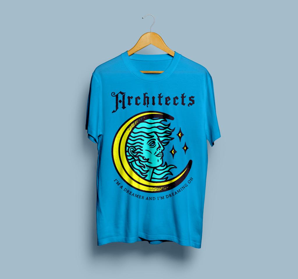 Camiseta Architects - Vortex