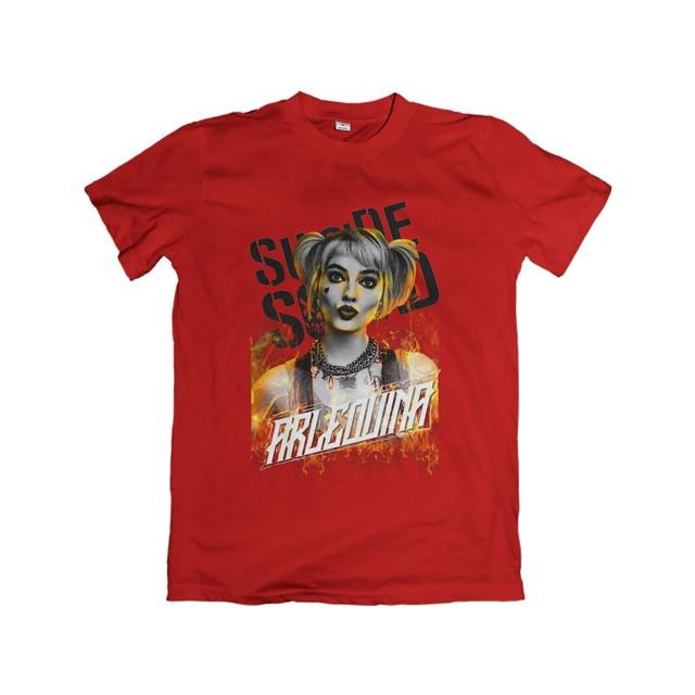 Camiseta Unissex Arlequina Suicide Squad - eFull Camisetas