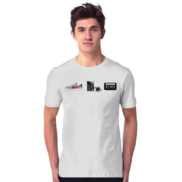 Camiseta Unissex Back to the Future Mcfly I - eFull Camisetas