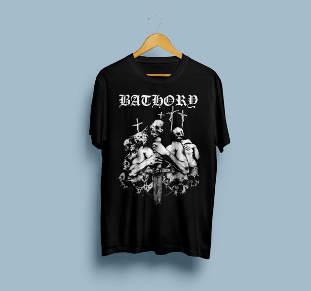 Camiseta Bathory - Vortex
