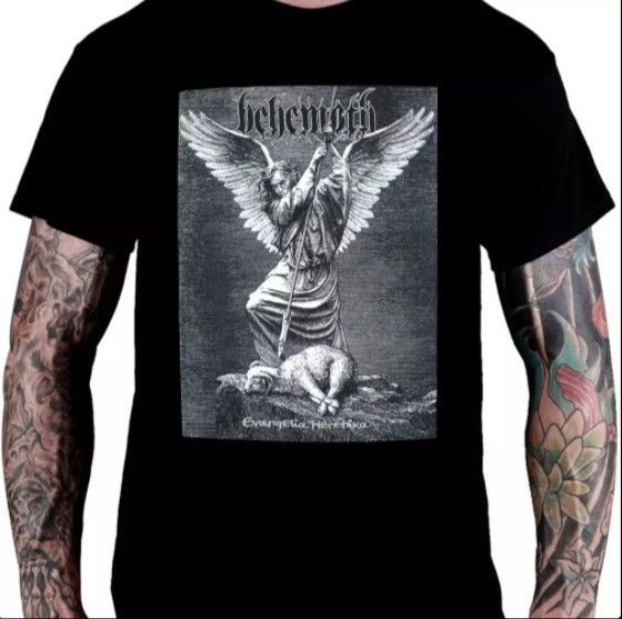 Camiseta Behemoth - Evangelia Heretika