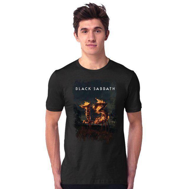 Camiseta Black Sabbath 13 - eFull Camisetas