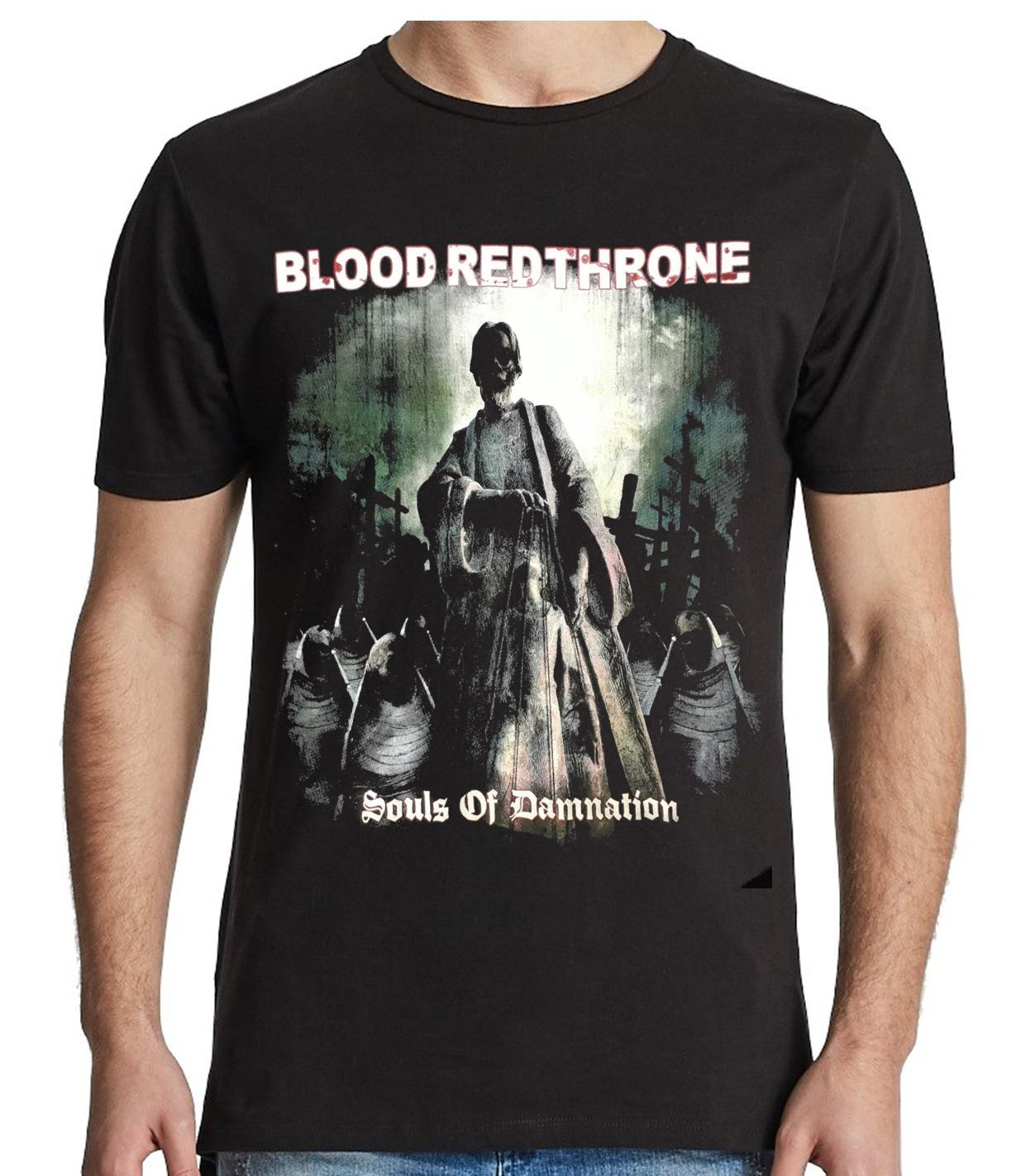 Camiseta Blood Red Throne - Souls of Damnation