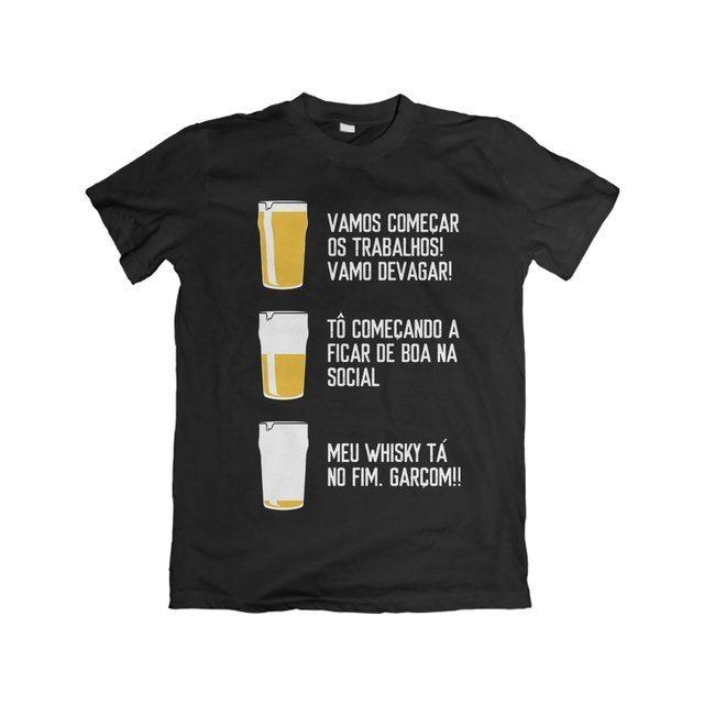 Camiseta Bora beber - eFull Camisetas