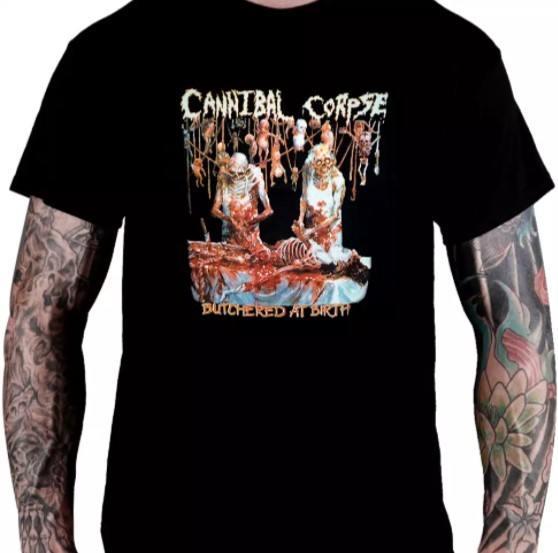 Camiseta Cannibal Corpse - Butchered At Birth