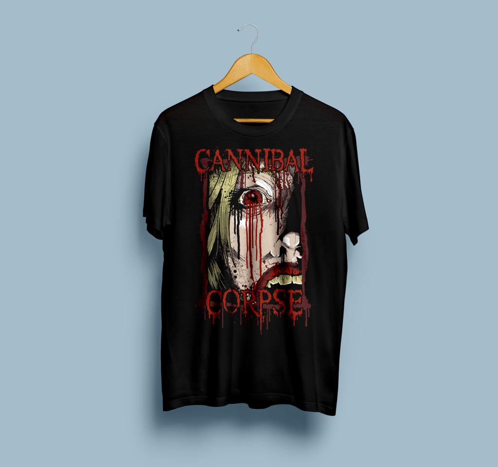 Camiseta Cannibal Corpse - Vortex
