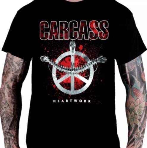 Camiseta Carcass - Heartwork