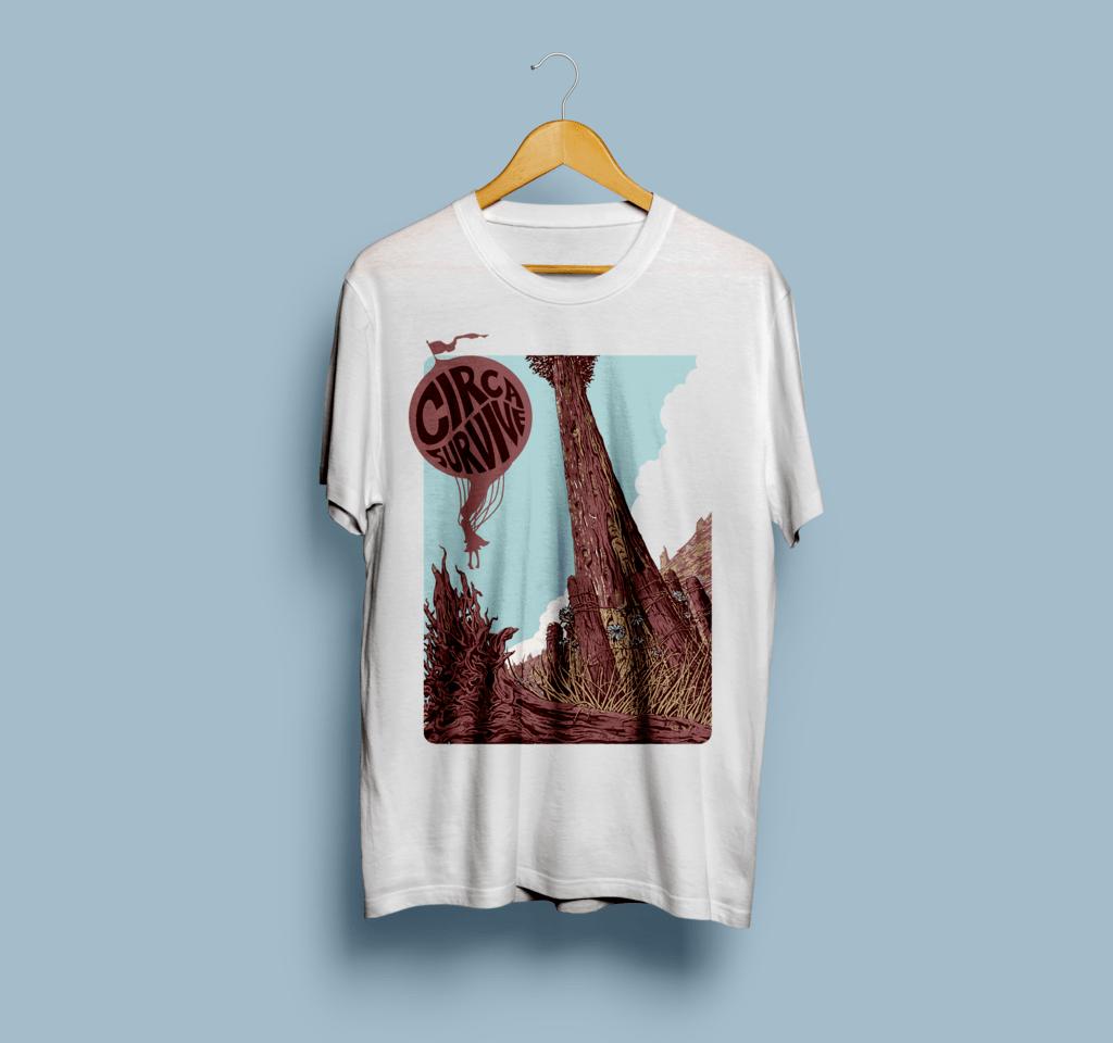 Camiseta Circa Survive - Vortex