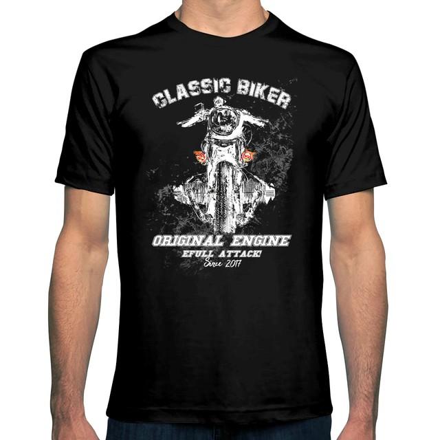 Camiseta Classic Biker - eFull Camisetas