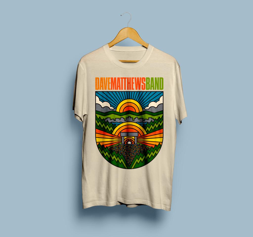 Camiseta Dave Matthews Band - Vortex