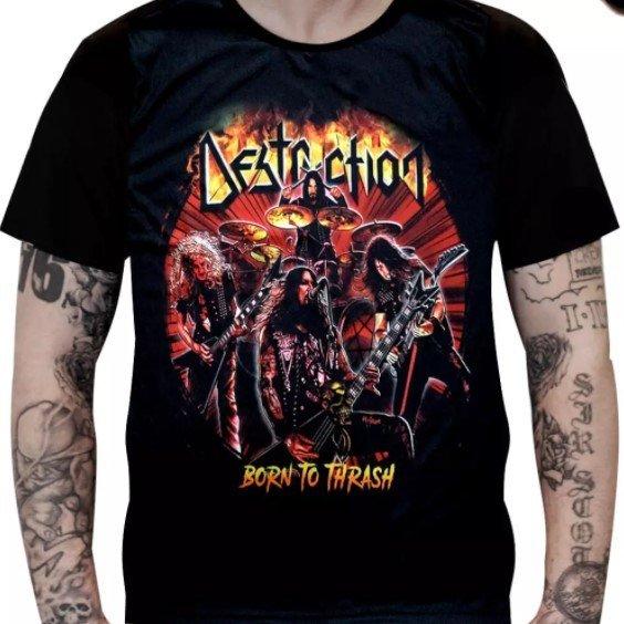 Camiseta Destruction - Born to Thrash