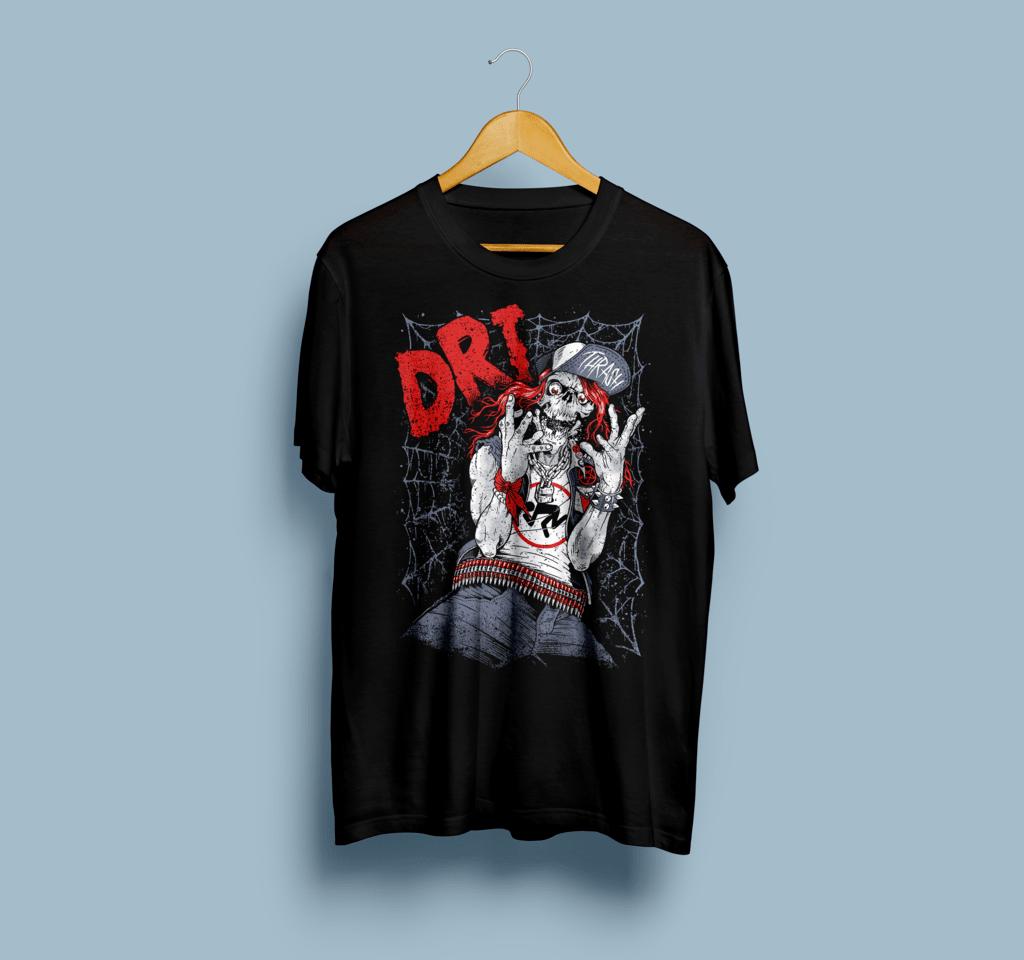 Camiseta D.R.I - Vortex