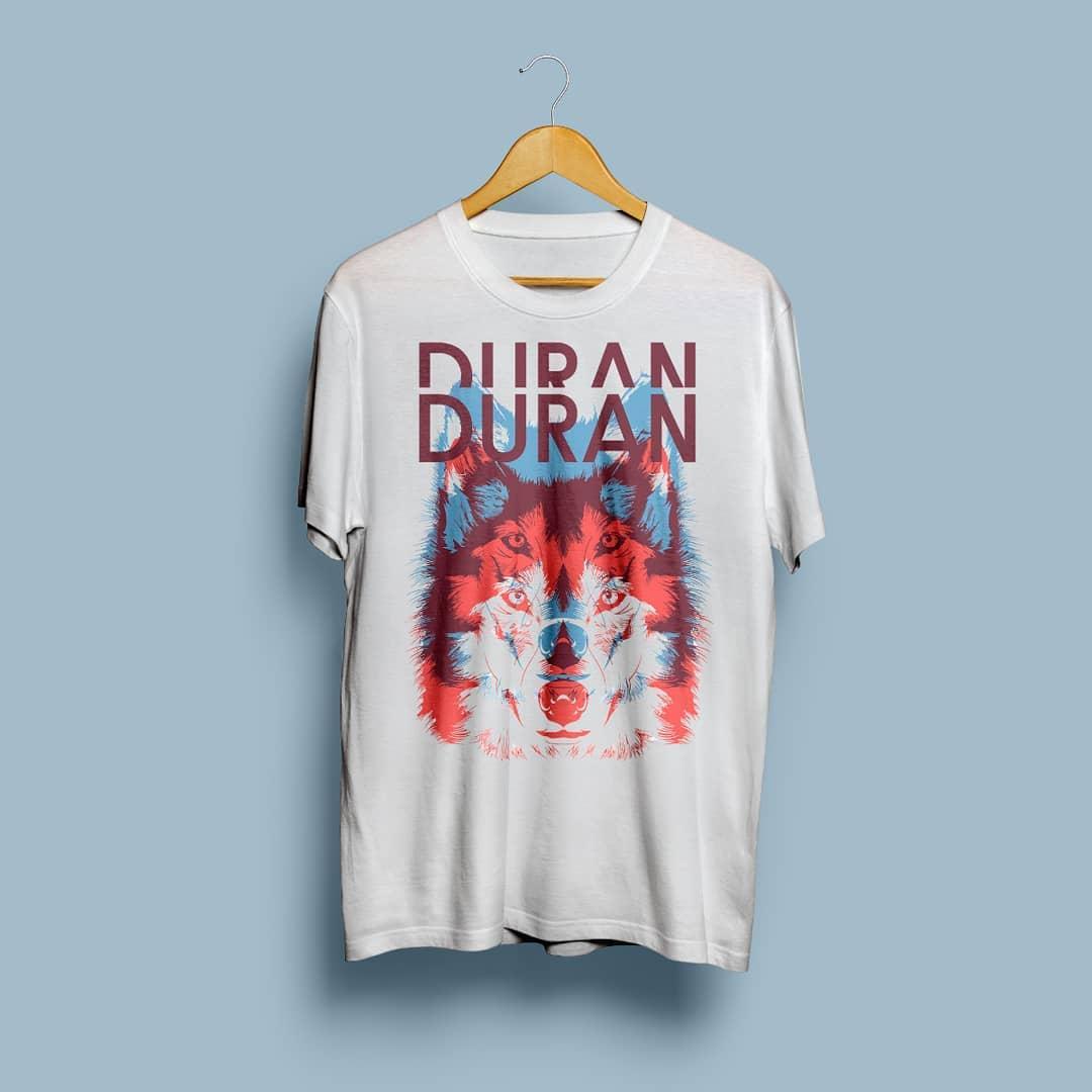 Camiseta Duran Duran - Vortex