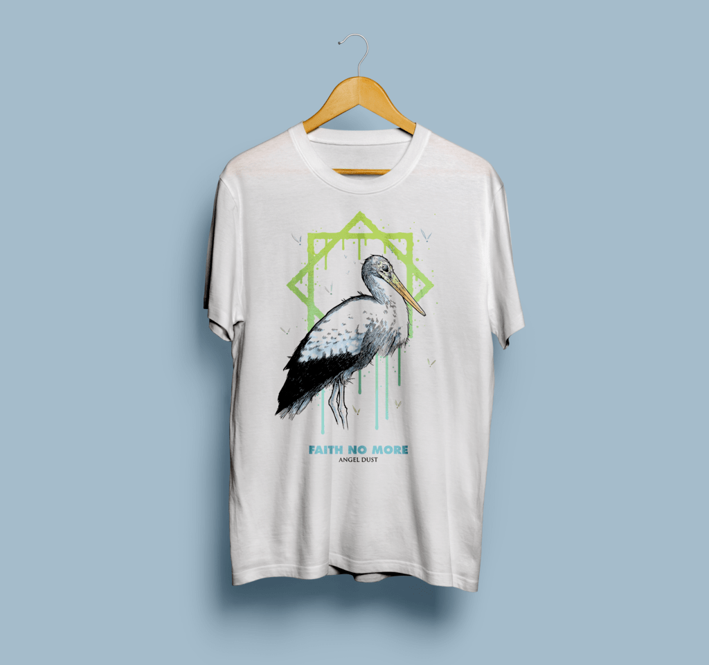 Camiseta Faith No More - Vortex