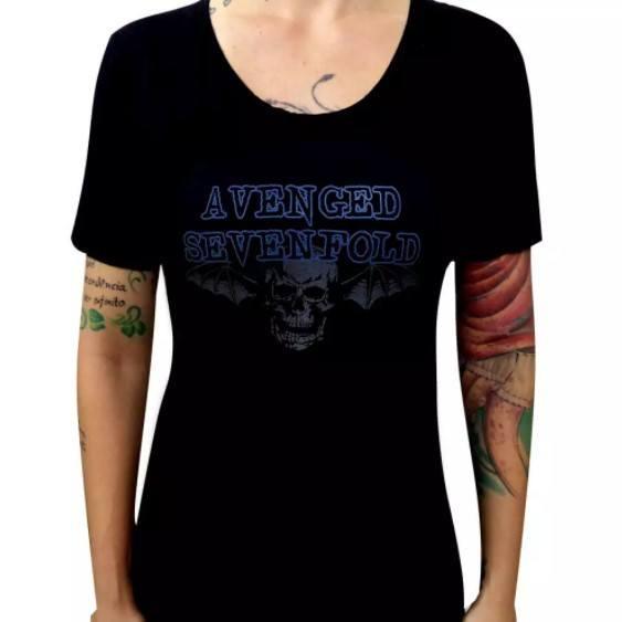 Camiseta Feminina Avenged Sevenfold