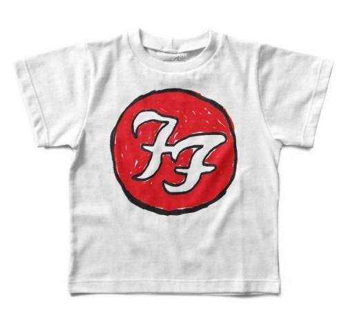 Camiseta Foo Fighters Handmade, Let's Rock Baby