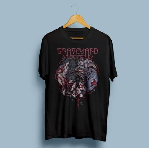 Camiseta Graveyard - Vortex