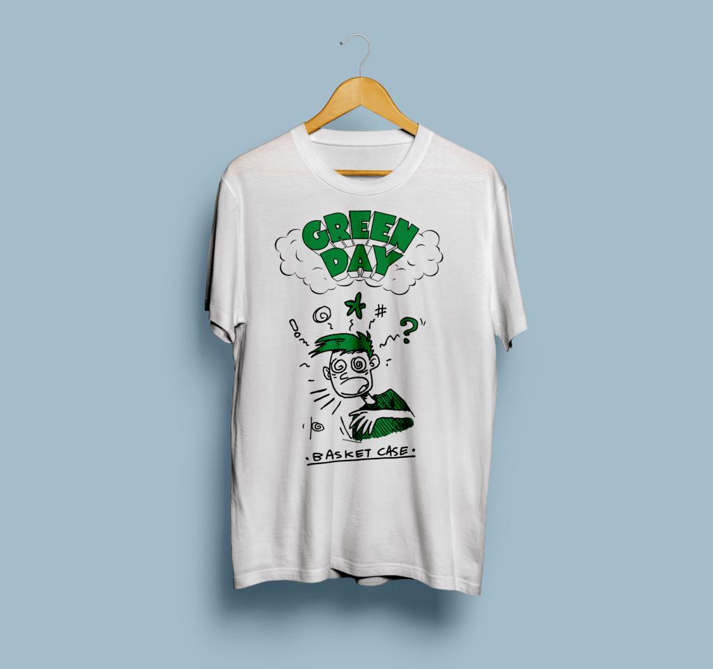 Camiseta Green Day - Vortex